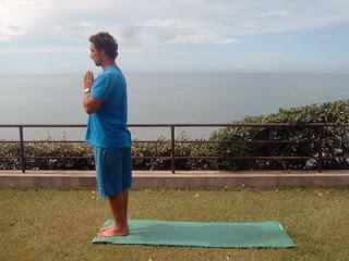 Posizione 1 - Prayer pose