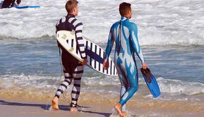 La muta anche anti -squalo (?!?!)